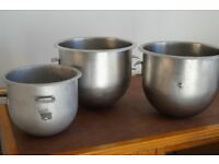 Large mixing bowls for mixer