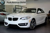 2014 BMW 228i Sport Line/ Groupe Luxe, Toit Ouvrant, 18 300Km
