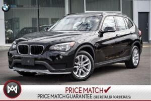 2015 BMW X1 AWD, PREMIUM, SUNROOF