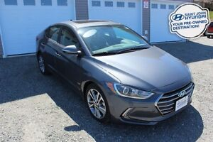 2017 Hyundai Elantra Limited! LOADED! TWO SETS OF TIRES! WARRANT