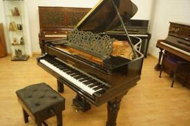 Steinway & Sons grand piano and stool. Delivery Included