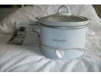 Crock-pot slow cooker.