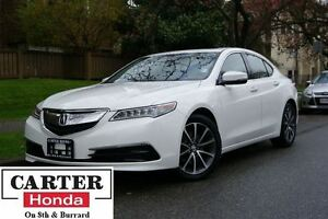 2015 Acura TLX Tech + NAVI + SH-AWD + LOCAL + LEATHER!
