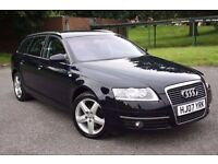 2007 AUDI A6 2.0 TDI SE, DIESEL, 6 SPEED MANUAL, ESTATE, MASSIVE SERVICE HISTORY, DRIVES VERY WELL !