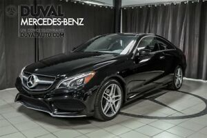 2014 Mercedes-Benz E-Class E350 Coupe 4MATIC / PHARES DEL+CAMERA