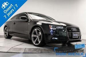2014 Audi A5 S-LINE, 2.0, TECHNIK, AWD, NAV, CUIR