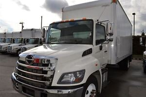 2014 Hino 338 c/w 24' Van  Level Ride GPTLR-4 Gate with L...