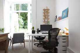 Desk space to rent in friendly office in Petersfield