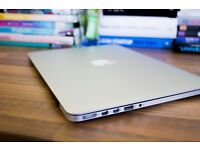 "13"" MacBook Retina, mint condition with AppleCare. Looking for iMac 27"" retina."