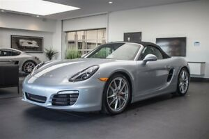 2014 Porsche Boxster S PDK PASM PDLS BOSE 101, 415$ MSRP