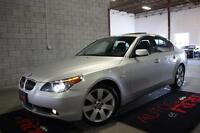 2006 BMW 5 Series 530xi // 6-SPEED!