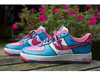 Custom Nike Air Force 1's (Size UK 7)
