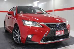 2016 Lexus CT 200h Nav Sunroof Btooth Cruise Alloys Heated Seats