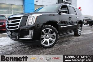 2015 Cadillac Escalade Premium - 6.2L V8, 22 wheels, Rear DVD, N