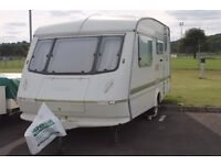 An Immaculate - ELDDIS Mistral XL 1992, 2-Berth Caravan with Awning - FOR SALE