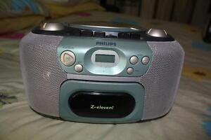 RETRO Philips Radio, Cassette & CD Player may need a laser clean Concord Canada Bay Area Preview
