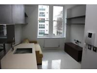 Studio flat in Albany House, Judd Street, King's Cross WC1H