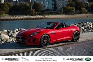 2016 Jaguar F-Type Convertible at