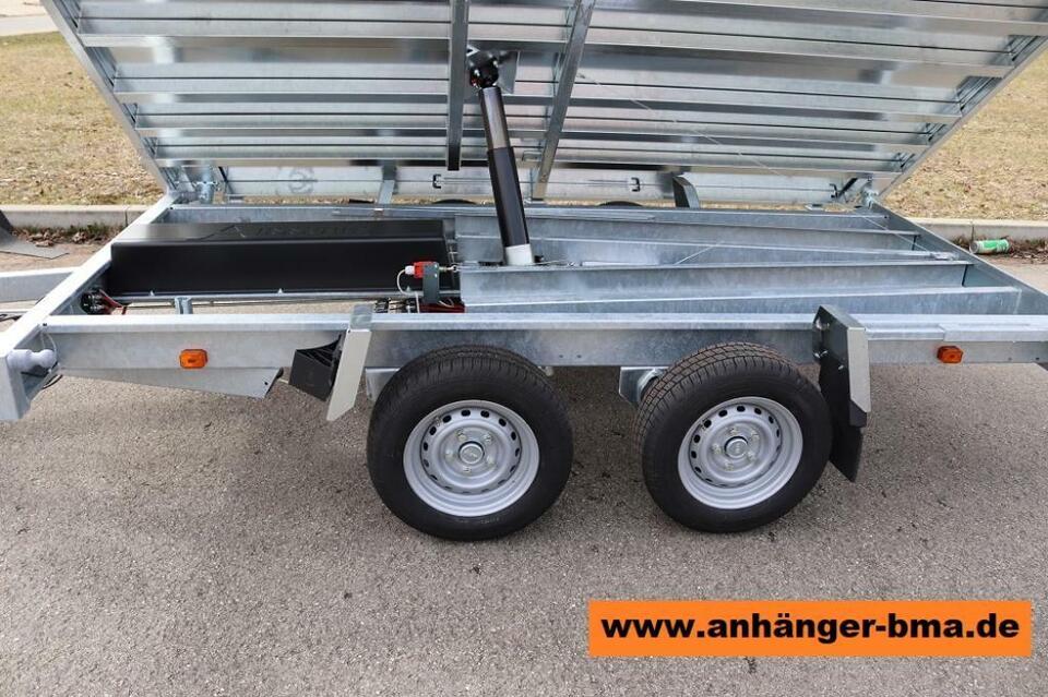 Anssems KSX  3-Seiten-Kipper 2500kg| 3000kg|3500kg PKW Anhänger in Mühlhausen im Täle