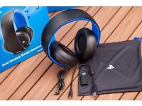 Sony stereo headset for ps4/ps3/mobile