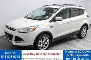 2013 Ford Escape SEL LEATHER! NAV! PANORAMIC SUNROOF! $66/WK, 4.