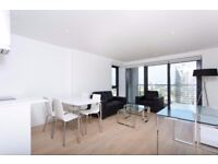 STUNNING 2 BEDROOM FLAT WITH LARGE PRIVATE BALCONY,FURNISHED IN HORIZONS TOWER, CANARY WHARF, LONDON