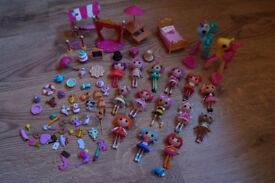 Lalaloopsy mini dolls bundle and pony