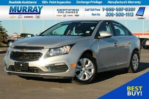 2015 Chevrolet Cruze LT *FINANCING AS LOW AS 0.9%*