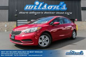 2014 Kia Forte LX AUTOMATIC! BLUETOOTH! POWER PACKAGE! AIR CONDI