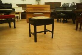 Vintage ebonised piano stool- can be delivered or shipped