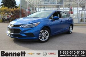 2017 Chevrolet Cruze LT Auto with Sunroof and Heated Seats