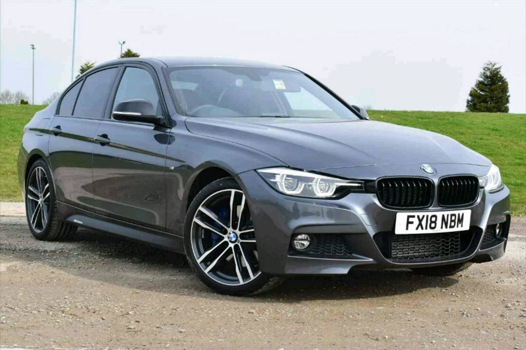 Bmw F30 3 Seried Genuine Black Leather Heated Seats And Door Cards