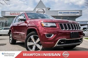 2015 Jeep Grand Cherokee Overland *Blind Spot|NAVI|Rear view mon