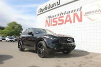 2015 Infiniti QX70 Sport / Heated and Cooled Seats / Sunroof / D