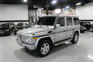 2002 Mercedes-Benz G-Class G500 4x4 | LOCAL CAR | CLEAN CARPROOF