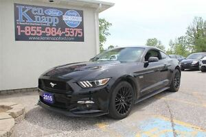 2015 Ford Mustang GT LEATHER NAV SYNC MANUAL