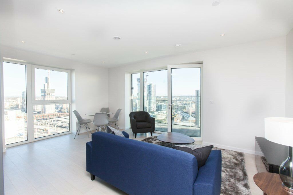 # Stunning brand new 2 bed 2 bath available now in Stratford - call now!!