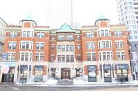 Downtown unit, historic building, spacious and elegant 4 1/2
