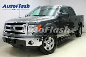 2014 Ford F-150 XLT crew-cab 5.0L *Box-Cover* Tow-Pkg *