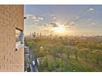 MODERN TWO DOUBLE BEDROOM APARTMENT WITH 2 BALCONIES, OFFERING STUNNING VIEWS OVER LONDON FIELDS