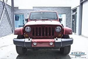 2012 Jeep Wrangler Unlimited Sahara ** Garantie prolongée complè