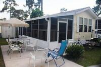 Sarasota Florida - Sun N Fun Trailer House FOR RENT or SALE