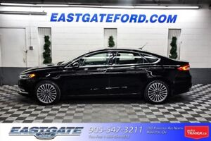2017 Ford Fusion SE AWD Leather Nav Moonroof