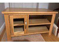 Oak TV Unit Cabinet Stand