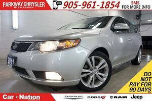 2011 Kia Forte5 SX| LUXURY| NAV| REAR CAM| LEATHER| SUNROOF|