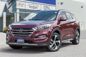 2017 Hyundai Tucson AWD 1.6T Ultimate Hyundai executive driven v