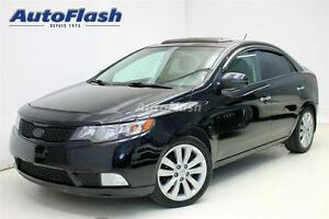 2013 Kia Forte 2.4L SX *Cuir/Leather* Toit-Ouvrant/Sunroof * Blu