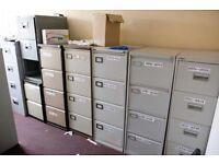 Metal Four Drawer Filing Cabinet