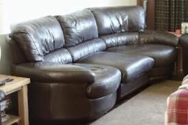 Two & Three Seater Leather Sofas