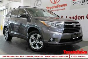 2015 Toyota Highlander LIMITED LEATHER NAVIGATION BLIND SPOT MON